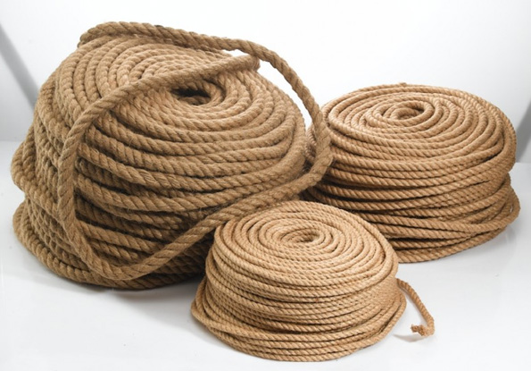 Фото веревки джутовой