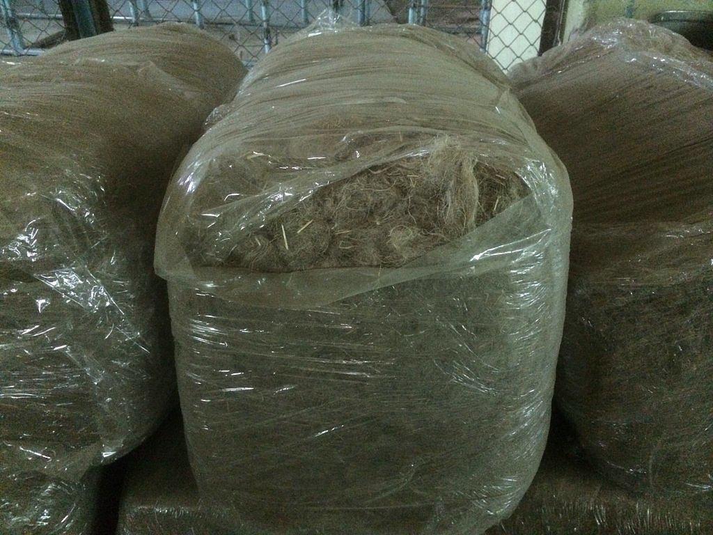 Пакля льняная в тюках (тюковая) по 20 кг