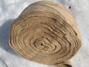 джутовое полотно - лента