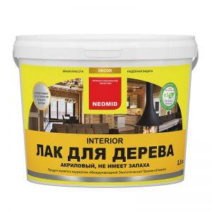 Неомид (Neomid) Interior Oil Масло для мебели и интерьеров