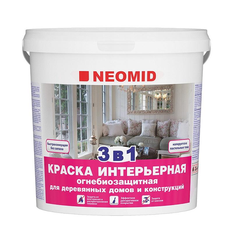 Неомид (Neomid) огнезащитная итерьерная краска