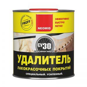 Неомид (Neomid) удаление лакокрасочных покрытий