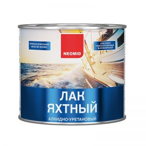 Неомид (Neomid) лак яхтный полуматовый